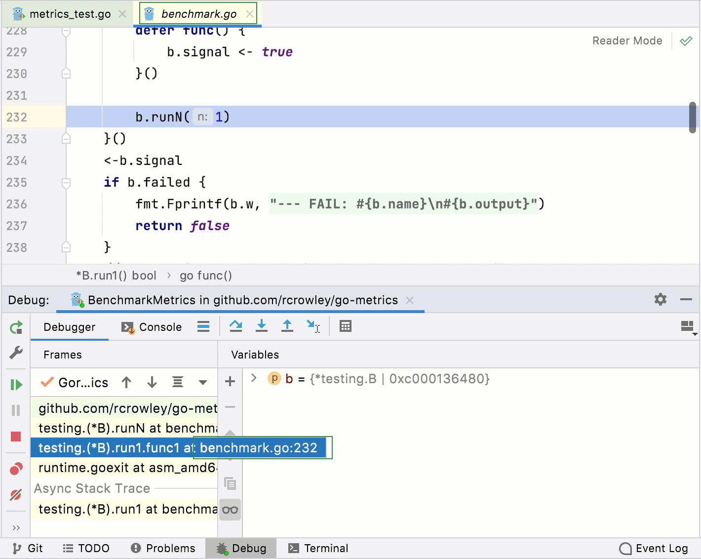 Debugger: the preview tab