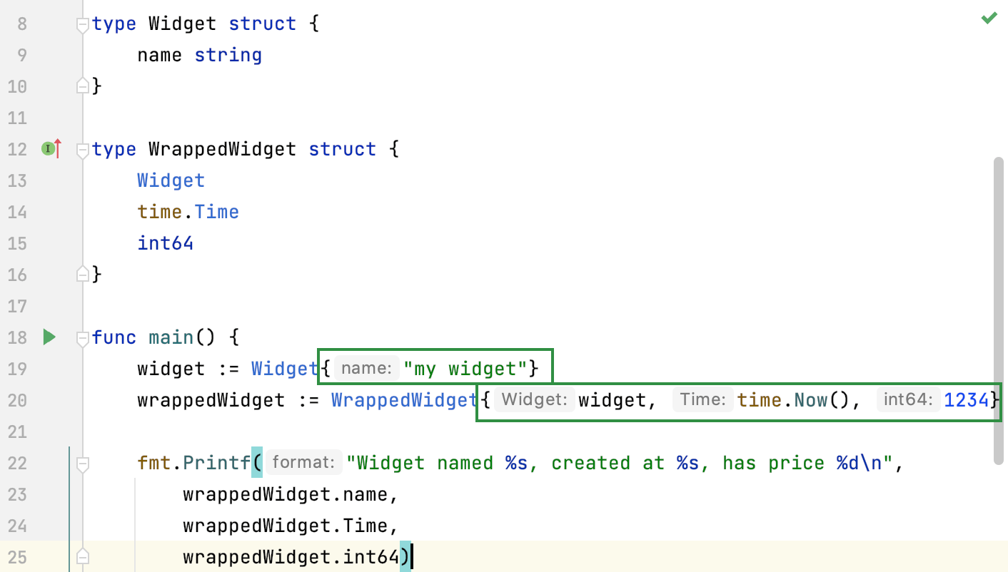 Show unnamed fields in structure values