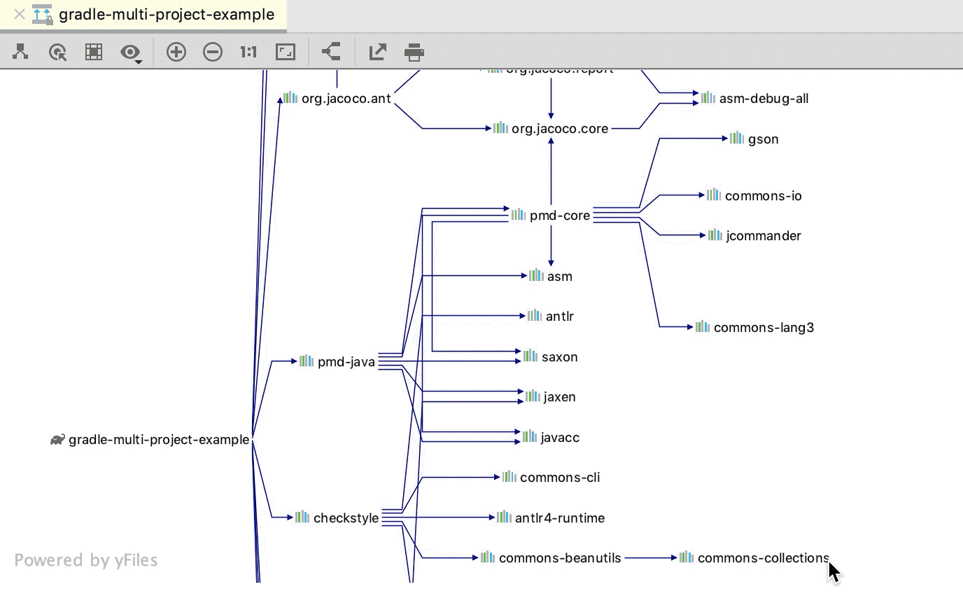 Show Paths Root Selection