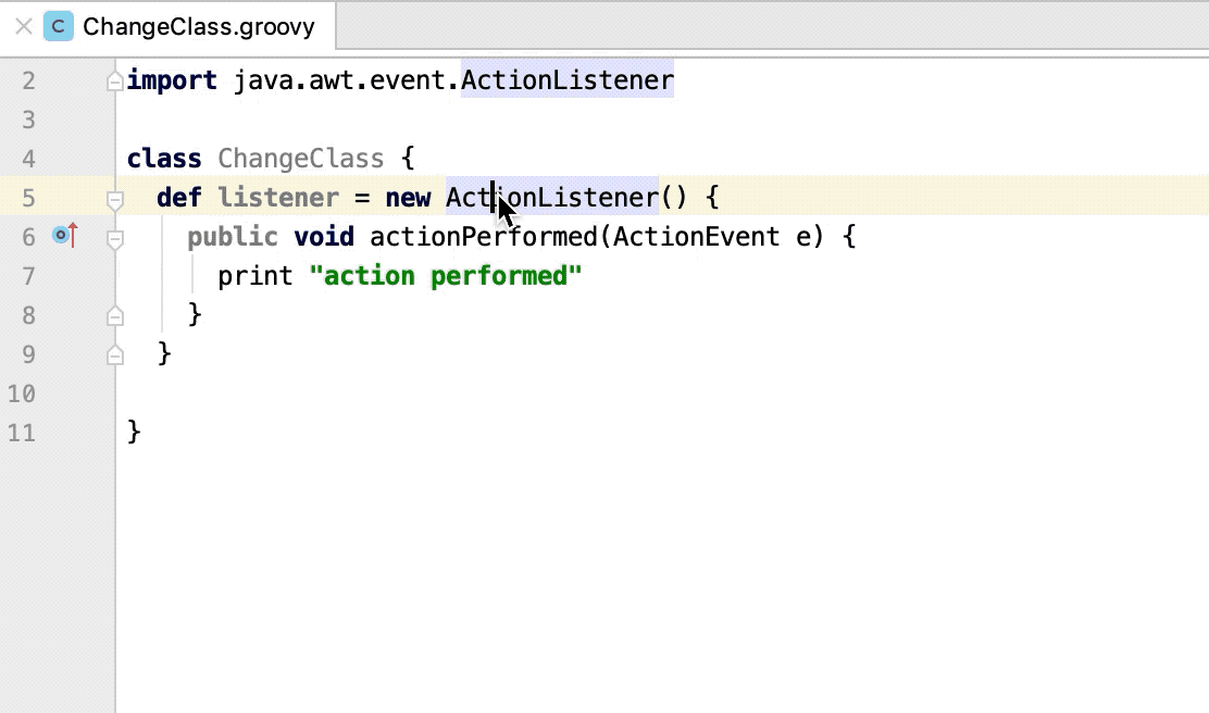 Change to dynamic instantiation