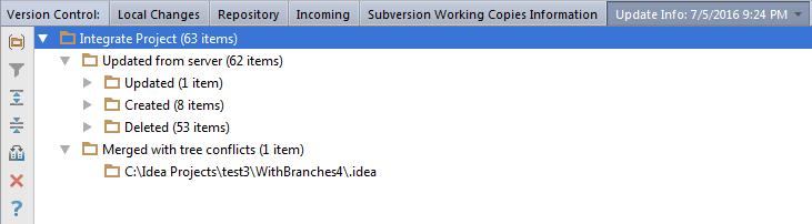 Integrate info tab