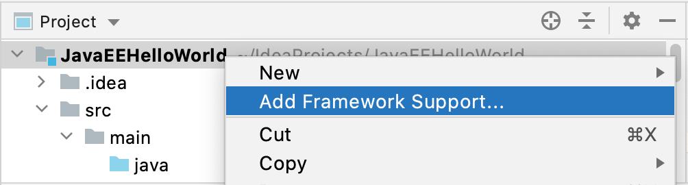 Add Framework Support