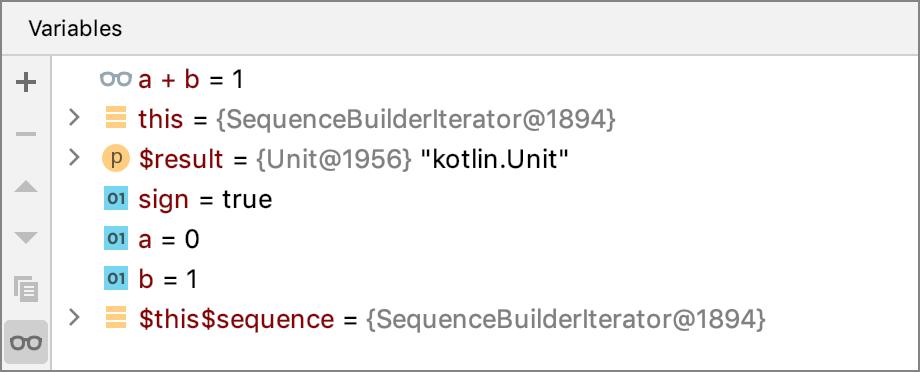 Kotlin debug coroutines context
