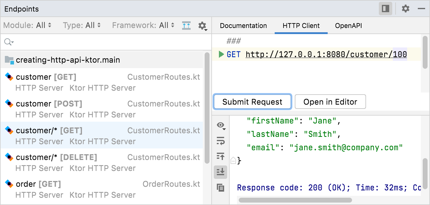 Ktor endpoints HTTP client