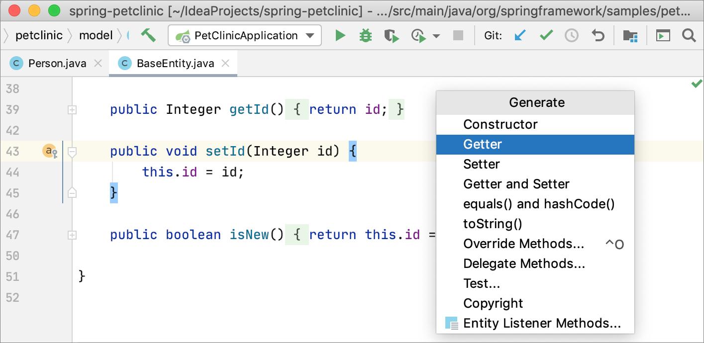 Generating code