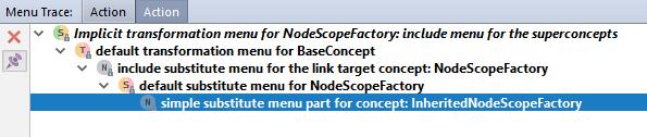 Mp menu trace bold