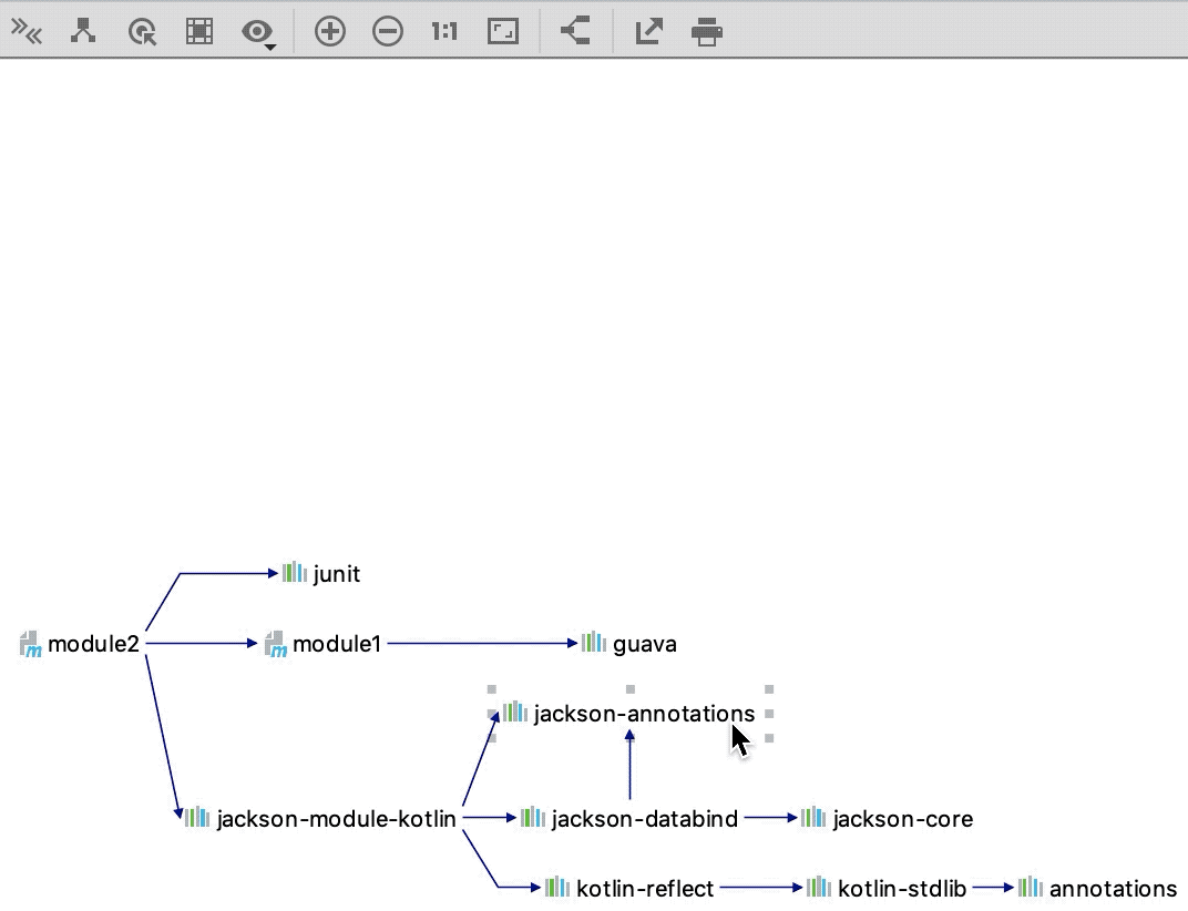 Show Path Root Selection