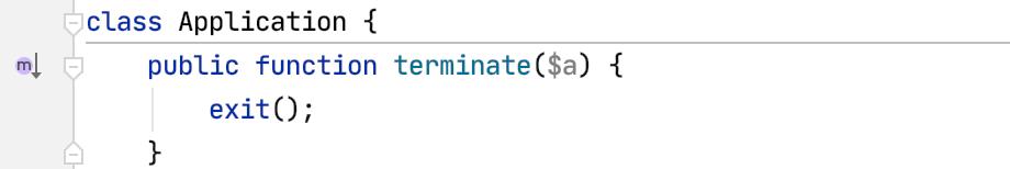 Meta Indicator in the Editor Gutter