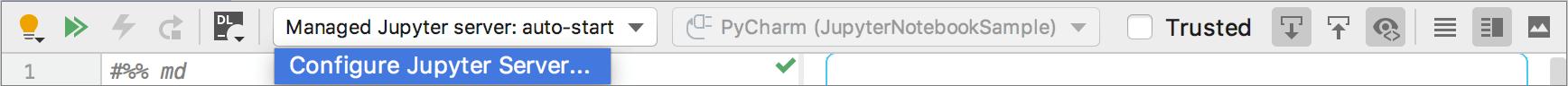 Configure a Jupyter server