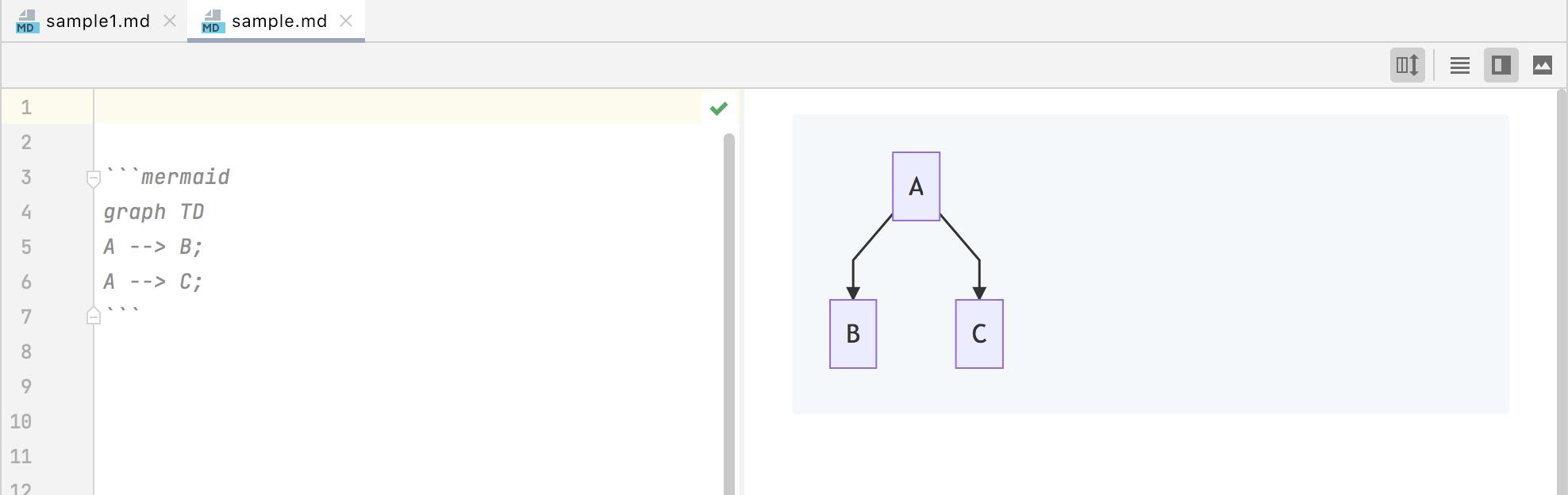 PlantUML diagrams in markdown