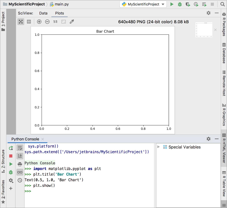 building graphs with matplotlib