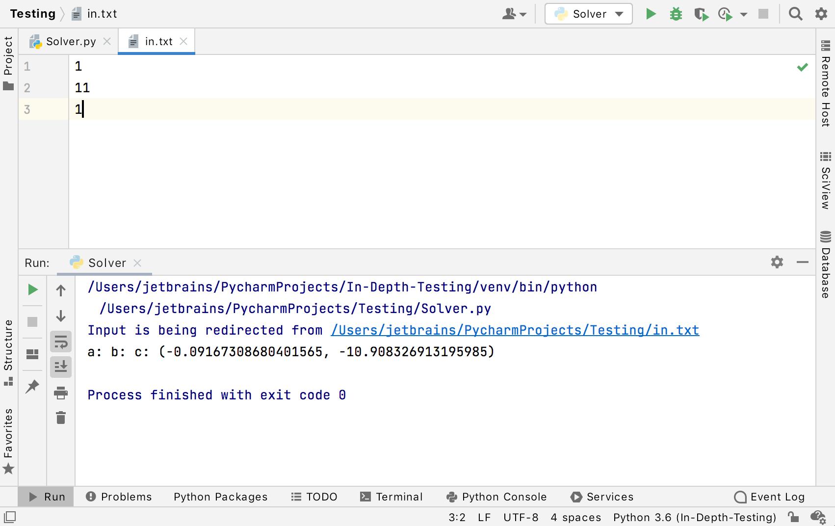 Code Running Assistance   PyCharm