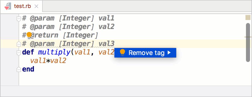 Remove a param tag