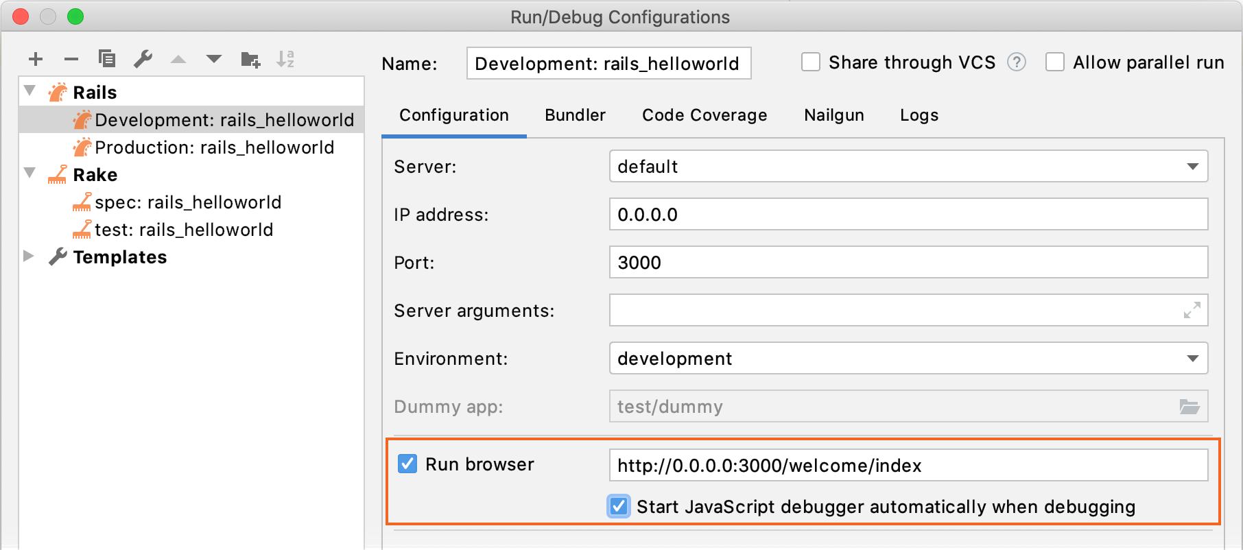 Enable JavaScript debugger in Rails