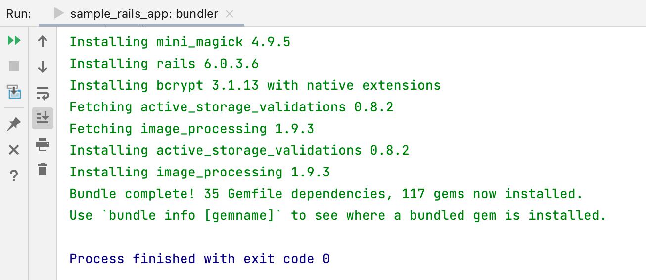 Bundler output