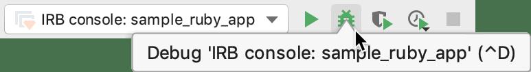 Debug IRB console