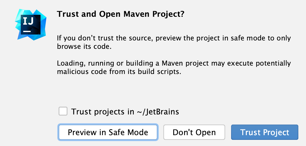 Untrusted Project