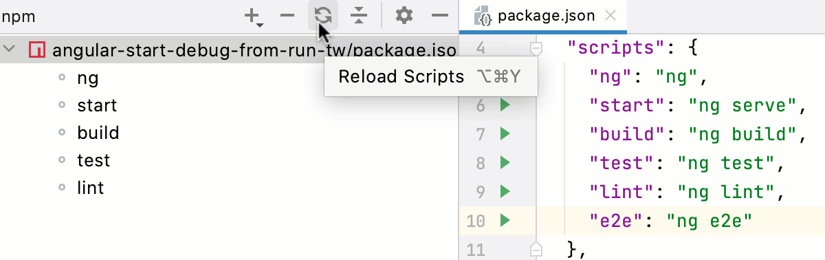 Reload Scripts