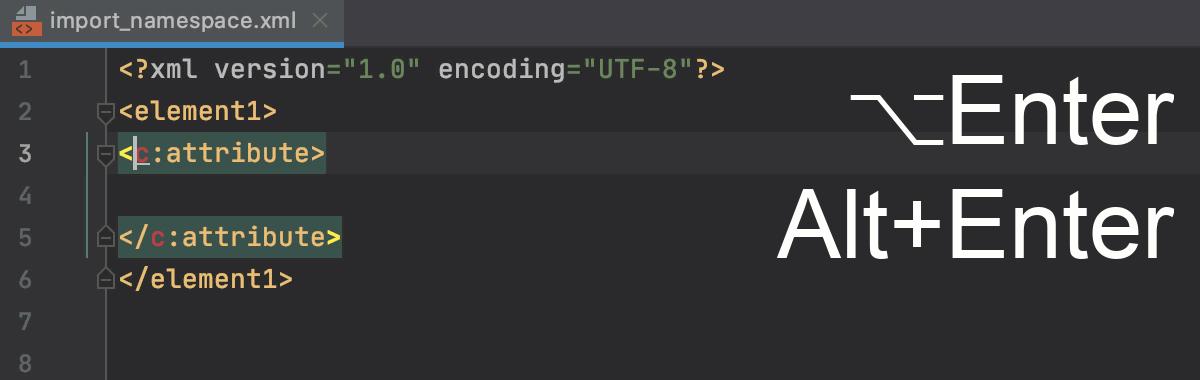 Import unbound namespace: Alt+Enter