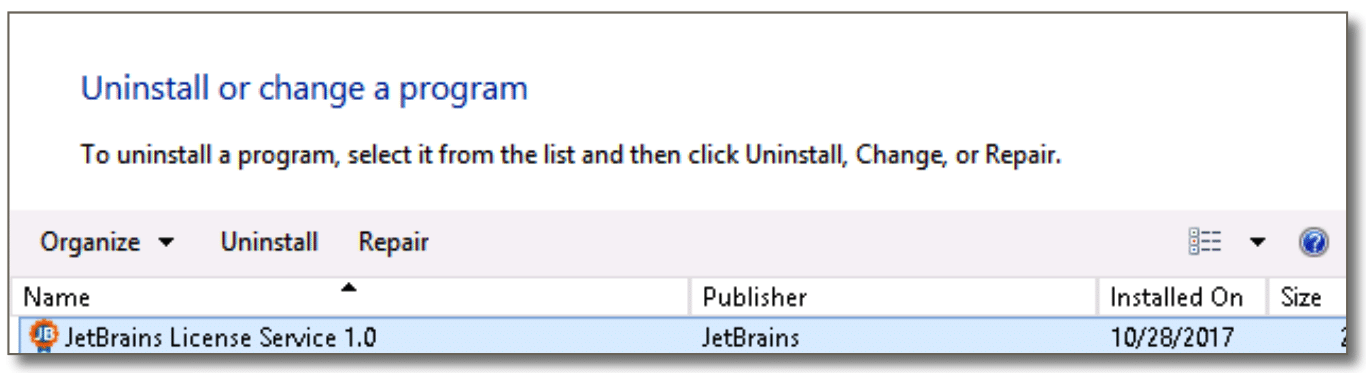 Uninstall old server