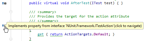 implements tooltip