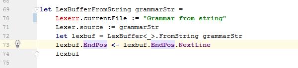 FSharp syntax highlighting
