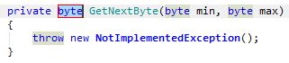 Code Analysis Examples of Quick Fixes undefined method return type