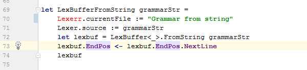 FSharp syntax highlighting