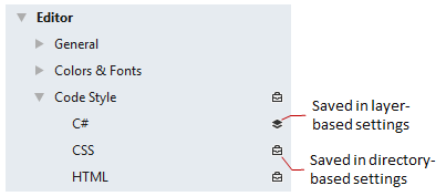 Rider: Code formatting settings