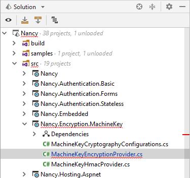 JetBrains Rider: error highlighting in the Solution Explorer
