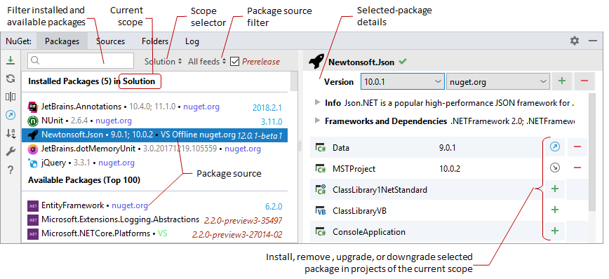 nuget package explorer download