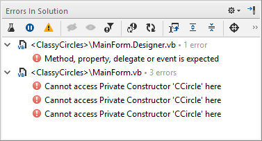 JetBrains Rider: Visual Basic support. Errors in Solution