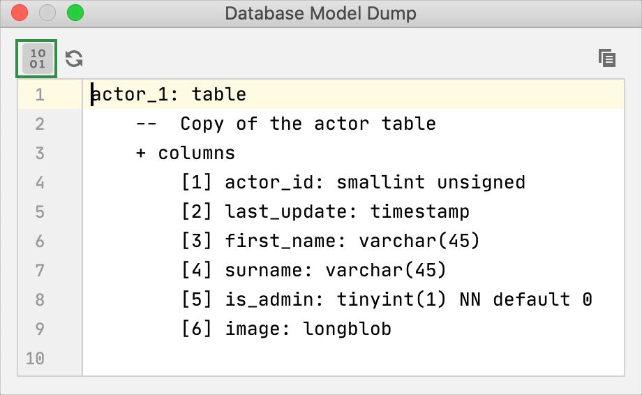 Dump model
