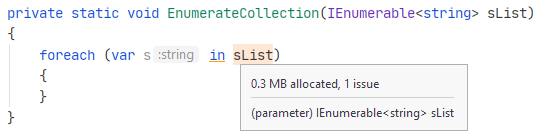 DPA. Enumerating collections