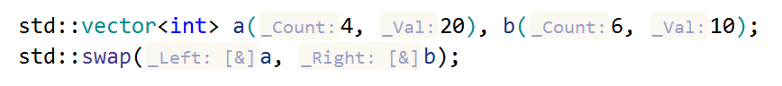 JetBrains Rider: reference hints for function arguments passed by a non-const reference