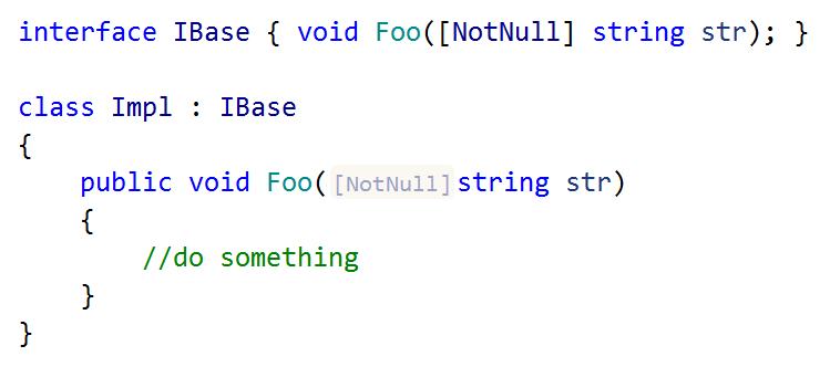 JetBrains Rider: Inlay hints. code annotations
