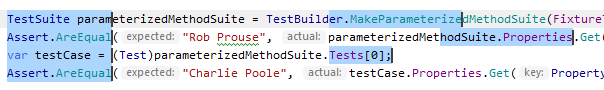 JetBrains Rider: Selecting multiple rectangular fragments of text with the mouse