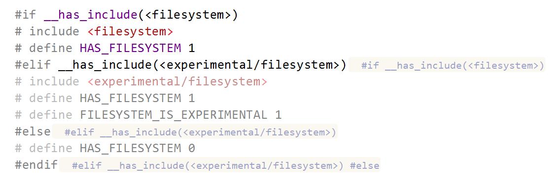 JetBrains Rider: Preprocessor directive hints in C++