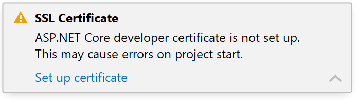 JetBrains Rider: Generating a self-signed SSL certificate