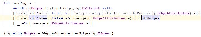 JetBrainsRider: Reformatting F# code