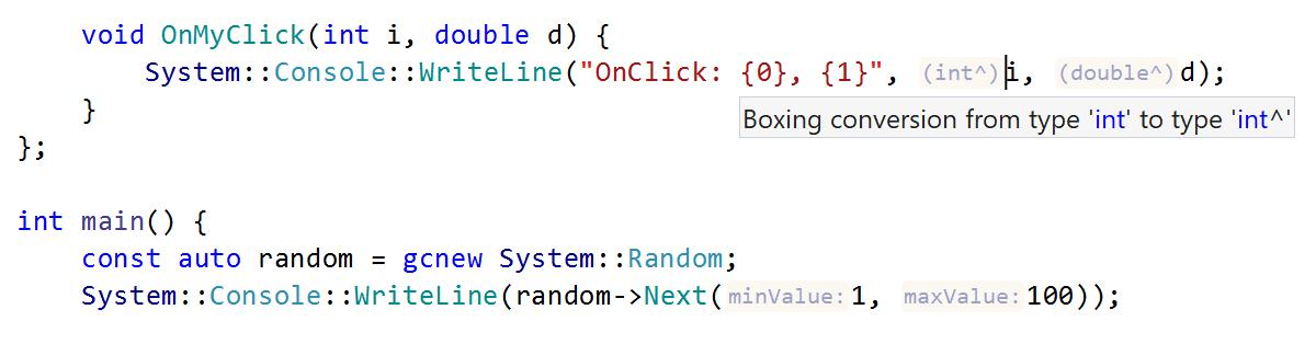 C++/CLI boxing conversions