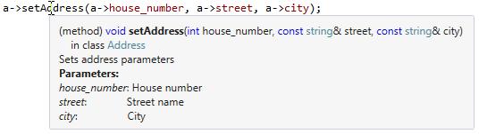 JetBrainsRider: Editor tooltip in C++