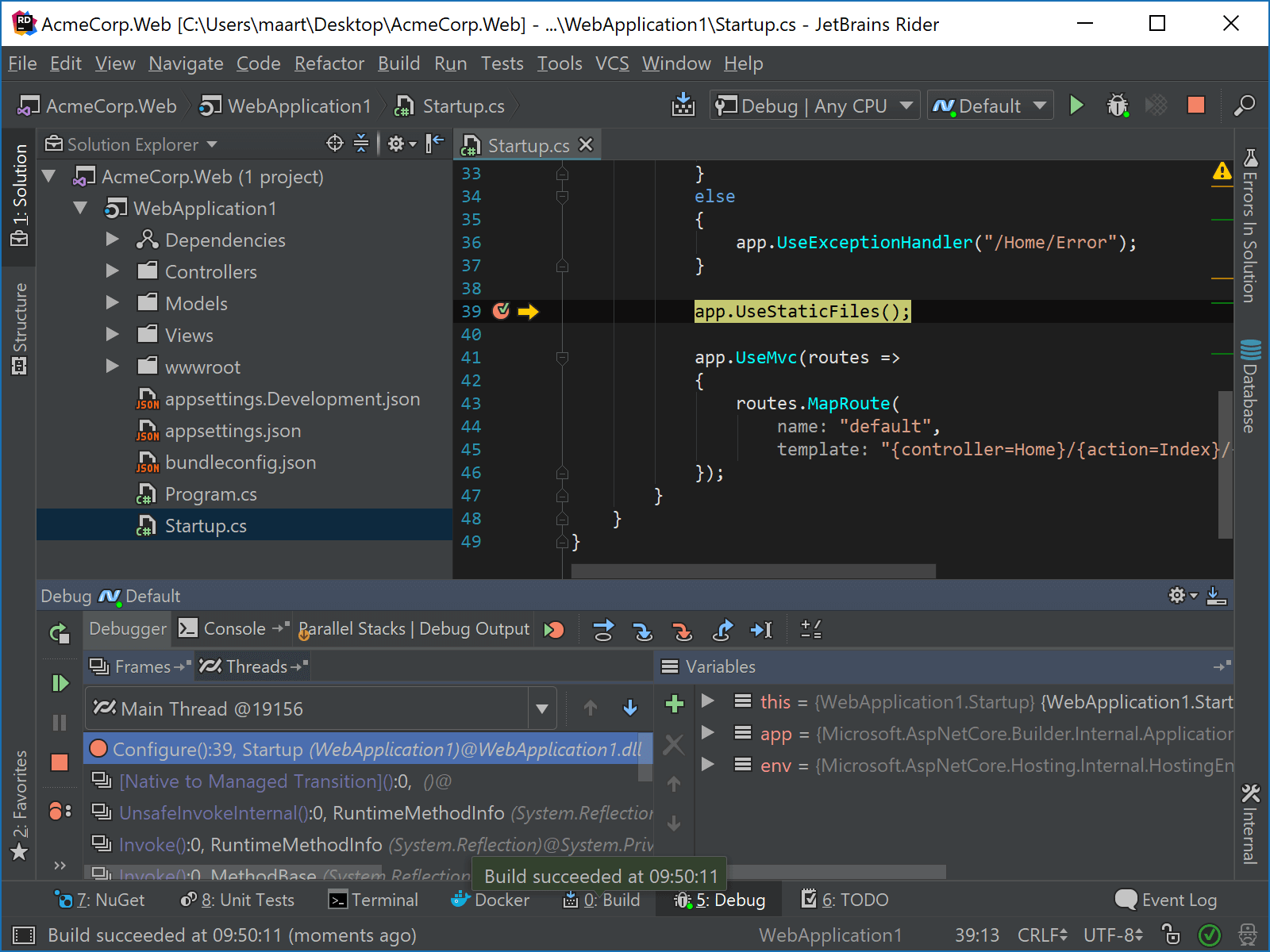 JetBrainsRider: Stepping into library code
