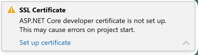 JetBrainsRider: Generating a self-signed SSL certificate