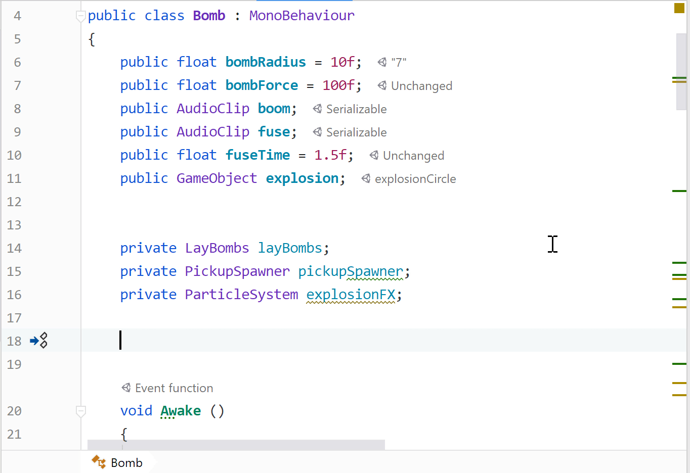 Generate Event Function