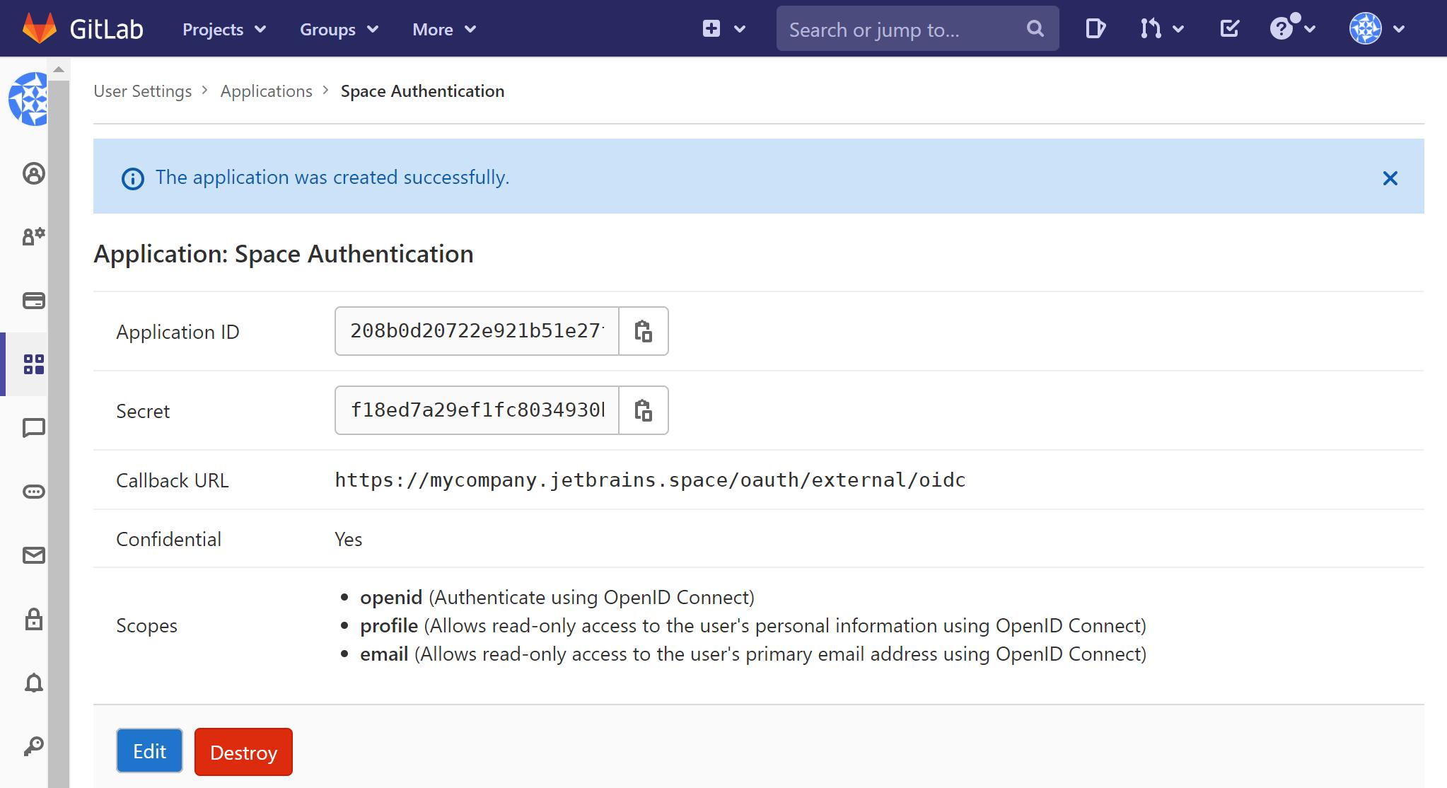 OpenIDConnectGitLabAppIDSecret.png