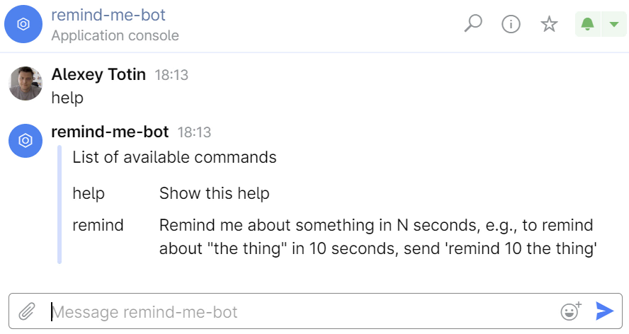 Simple Space chatbot