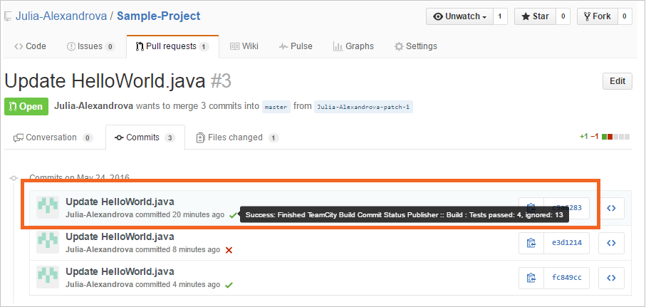 Pull Requests | Commits