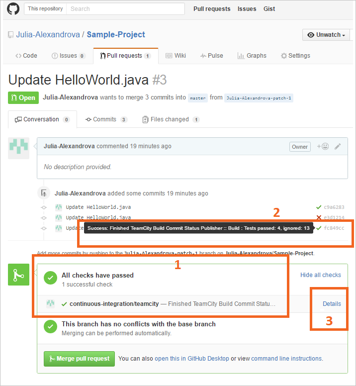 Pull Requests | Conversation