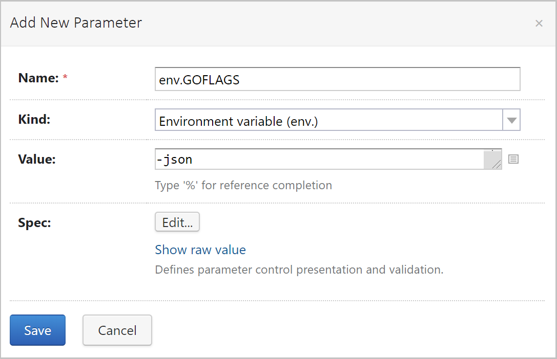 Add a parameter to enable parsing of Golang tests